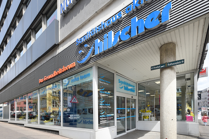 Filiale Augsburg - Standorte Sanitätshaus Hilscher